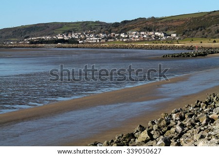 View of Pwll, South Wales