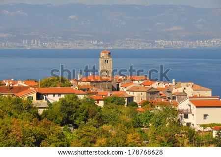 View of Rijeka - stock photo