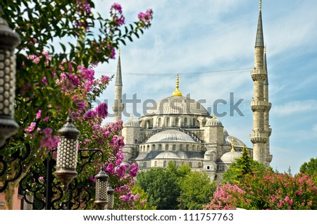 View of Saint Sofia, Istanbul, Turkey