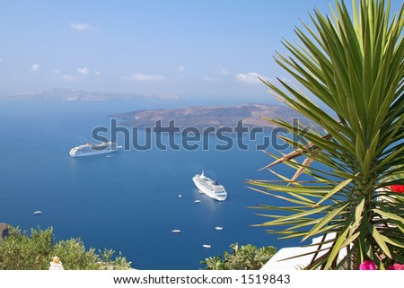 View of Santorini Island, Greece
