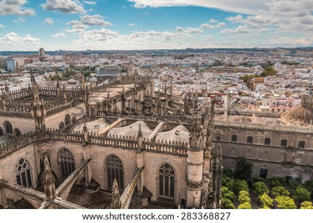 View of Seville in spain