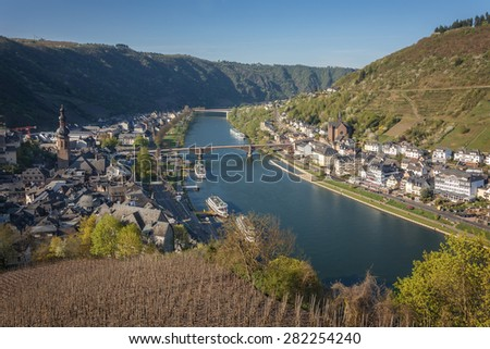 View of the Moselle.