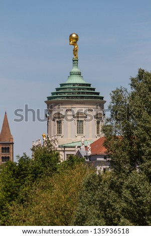 view of the Potsdam, Germany