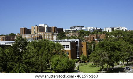 View of the University of Iowa Campus