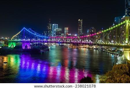 Purple Story Bridge Background Story Bridge