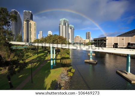 view on modern city during the day (broadbeach, queensland, australia)