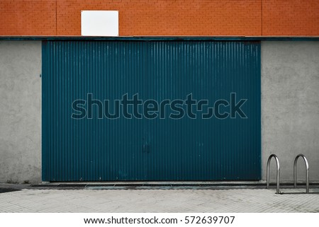 Warehouse exterior stock images royalty free images for Door 3d warehouse