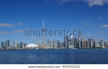 View on Toronto Skyline