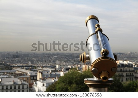 View over the city/Telescope