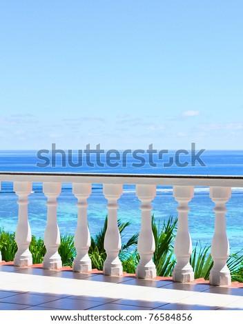 View Paradise Luxury - stock photo