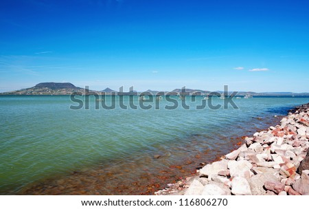 View to Lake Balaton,Hungary