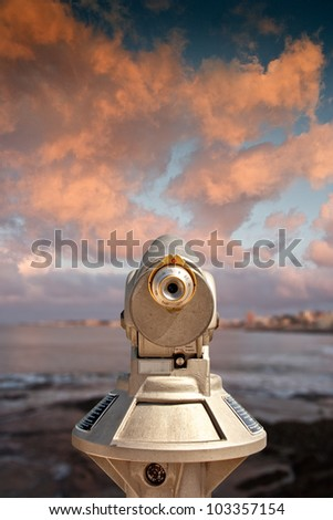 Viewfinder - stock photo