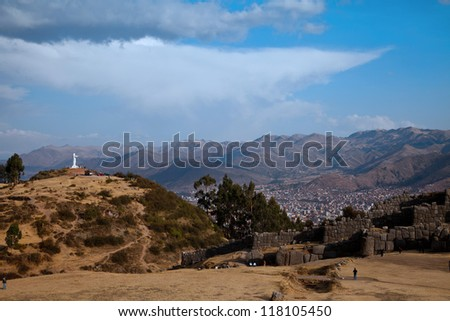 Views around Cusco City Centre Peru South America
