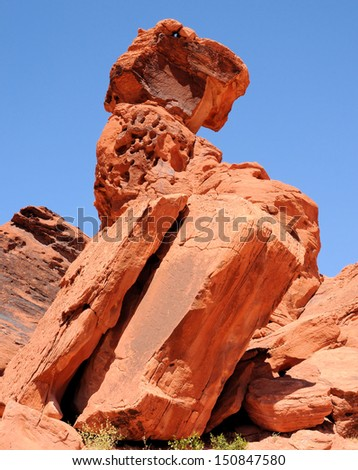 Views from the Valley Of Fire near Las Vegas, Nevada / Leaning Books