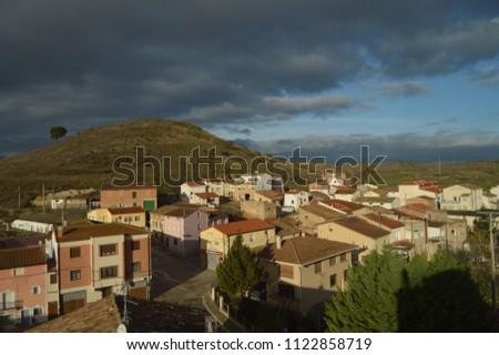 Views Rioja Baths Village Beautiful Riojan Stock Photo (Royalty Free ...