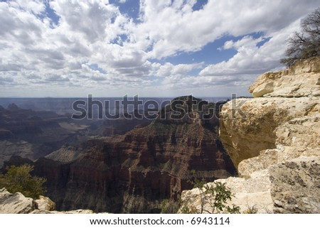 Views of The Grand Canyon, North Rim