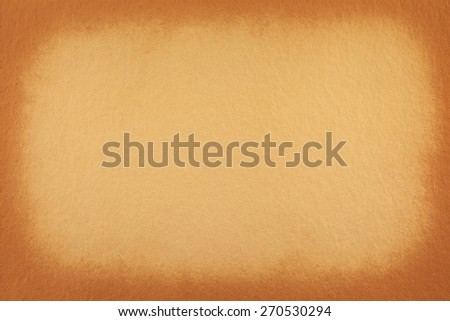 vignetted textured old paper background - stock photo