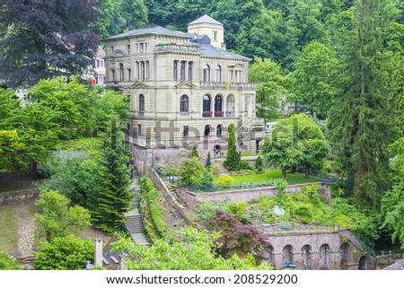 Villa in Heidelberg - stock photo