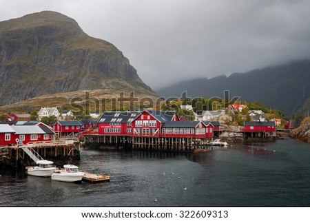 village A on the Lofoten islands