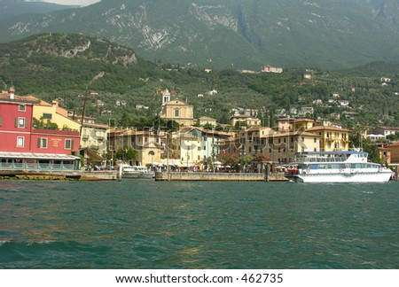 Village at tha Garda Lake