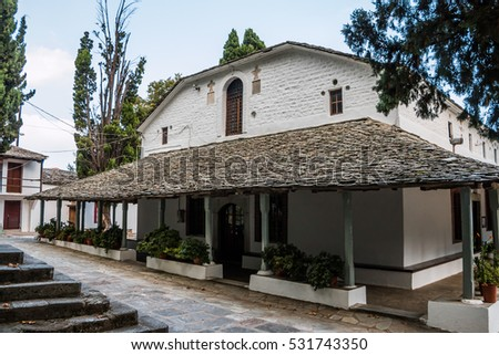 Village church in Greece