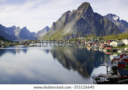 Village of Reine, Lofoten, Norway