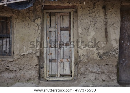 village old door