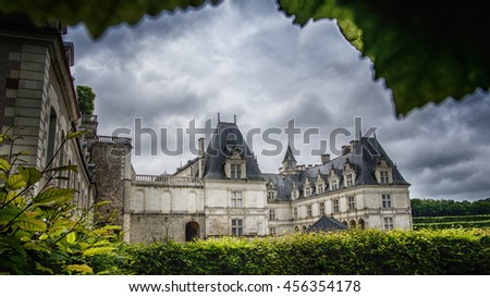 Villandry Castle, Loire Valley, France