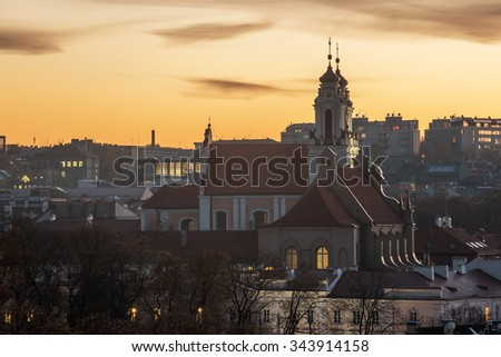 Vilnius, Lithuania: Church of St. Catherine
