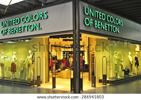 United colors of benetton stock images royalty free for Benetton usa online shop