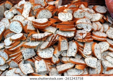 VILNIUS, LITHUANIA - MARCH 7: Weekend in the capital of Lithuania Vilnius city in annual traditional crafts fair - Kaziukas fair on March 7, 2015, Vilnius, Lithuania. - stock photo