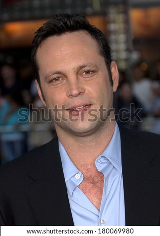 Vince Vaughn at THE BREAK UP Premiere, Mann's Village Theatre in Westwood, Los Angeles, CA, May 22, 2006 - stock photo
