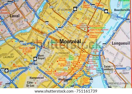 Vinnitsa Ukraine January 18 2017 Montreal Stock Photo 751161739