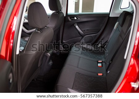 handyman vacuuming car back seat vacuum stock photo 342153476 shutterstock. Black Bedroom Furniture Sets. Home Design Ideas