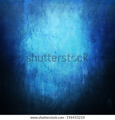 Vintage abstract blue background  - stock photo