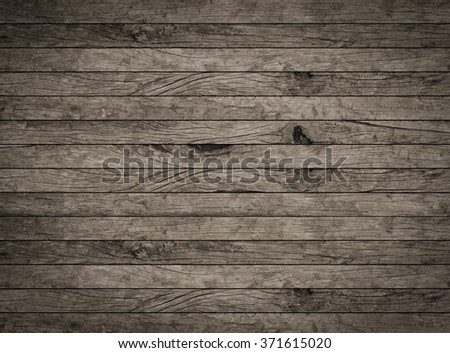 vintage aged dark brown wooden backgrounds texture:retro veneer panel walls backgrounds:rustic plank wood floorboards wallpaper with vignette:ancient wood tiles stripe in horizontal lines backdrop.  - stock photo
