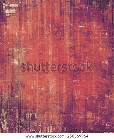 Vintage aged texture, colorful grunge background with space for text or image. With different color patterns: brown; red (orange); purple (violet); pink - stock photo