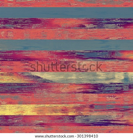 Vintage aged texture, colorful grunge background with space for text or image. With different color patterns: yellow (beige); purple (violet); blue; red (orange) - stock photo
