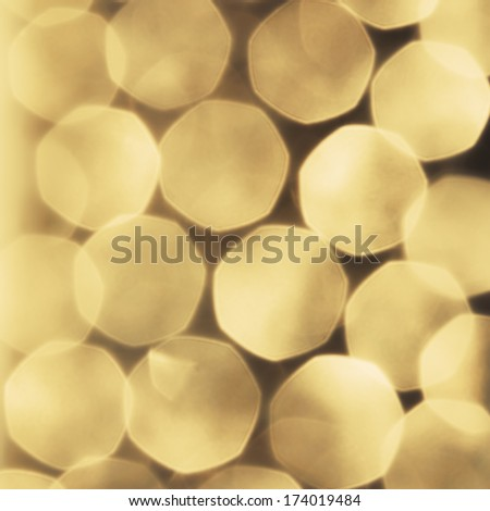 Vintage and abstract bokeh background - stock photo