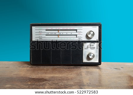 Vintage Antique Radio