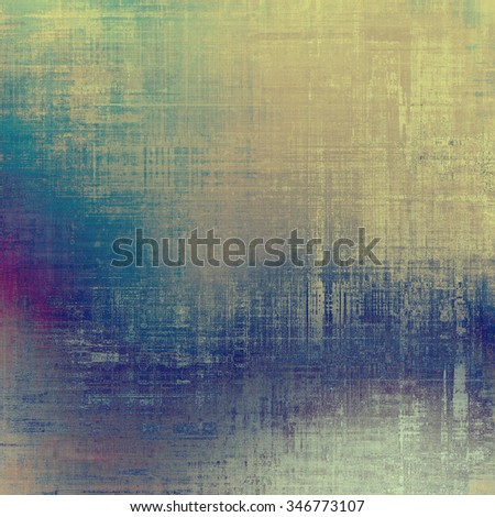 Vintage antique textured background. With different color patterns: brown; gray; blue; purple (violet)