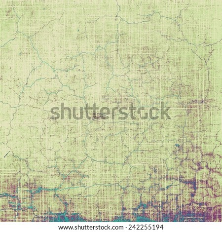 Vintage antique textured background. With different color patterns: purple (violet); brown; cyan; gray