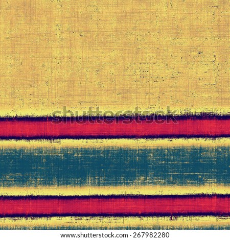 Vintage antique textured background. With different color patterns: yellow (beige); brown; blue; pink - stock photo