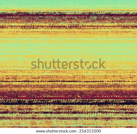 Vintage antique textured background. With different color patterns: yellow (beige); brown; purple (violet); cyan - stock photo