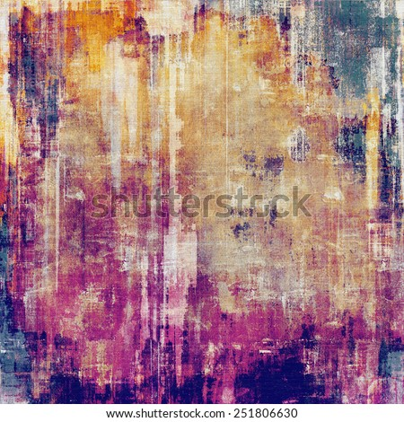Vintage antique textured background. With different color patterns: yellow (beige); red (orange); purple (violet); pink - stock photo