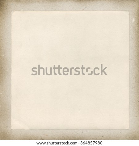 Vintage background - blank paper illustration - stock photo