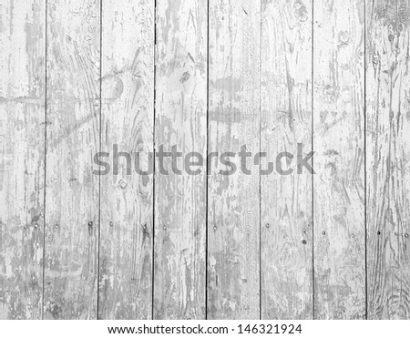Vintage background from a wooden shabby plank - stock photo
