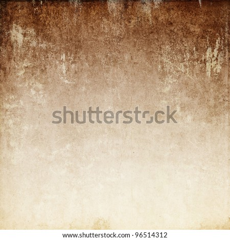 Vintage background in the brown shade - stock photo