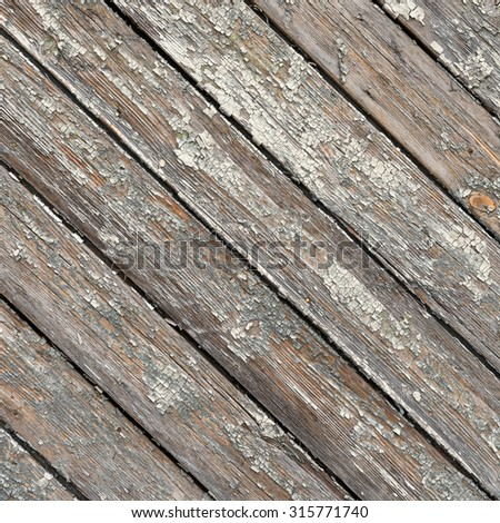 Vintage background made of old painted wooden boards - stock photo