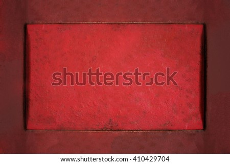 Vintage background of red grungy texture.